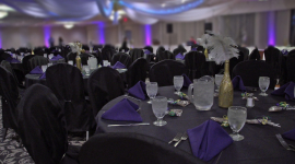 Purple and Black Ballroom 1